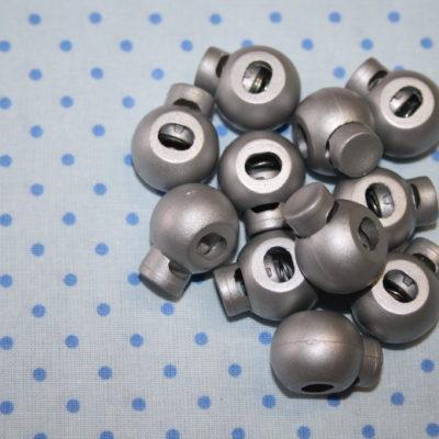 renee-d.de Onlineshop: 1 Kordelstopper silber grau