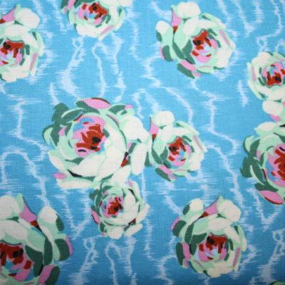 renee-d.de Onlineshop: Amy Butler Baumwollstoff Hapi serie blau