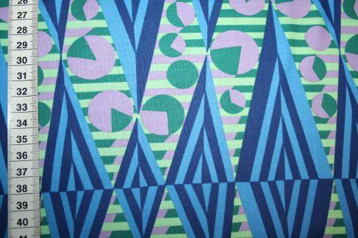 renee-d.de Onlineshop: Amy Butler Baumwollstoff Hapi serie blau grün lila