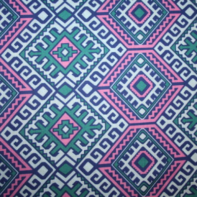 renee-d.de Onlineshop: Amy Butler Baumwollstoff Hapi serie blau pink türkis