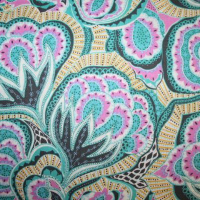 renee-d.de Onlineshop: Amy Butler Baumwollstoff Hapi serie grün pink