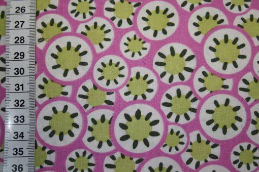 renee-d.de Onlineshop: Amy Butler Baumwollstoff Hapi serie rosa orange