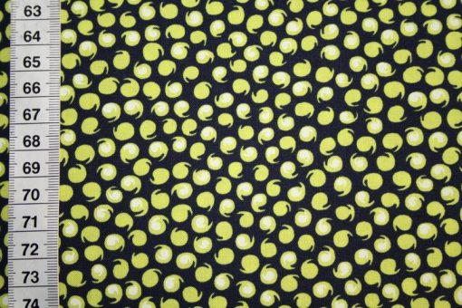 renee-d.de Onlineshop: Amy Butler Baumwollstoff gelb Kringel