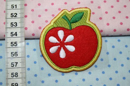 renee-d.de Onlineshop: Aufnäher Apfel