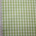 renee-d.de Onlineshop: Baumwoll Stoff Vichy Karo in grün mittel