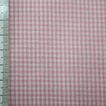 renee-d.de Onlineshop: Baumwoll Stoff Vichy Karo rosa klein