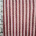 renee-d.de Onlineshop: Baumwoll Stoff Vichy Streifen rot klein