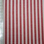 renee-d.de Onlineshop: Baumwoll Stoff Vichy Streifen rot mittel