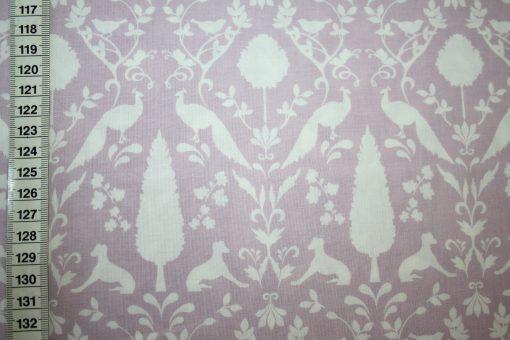 renee-d.de Onlineshop: Baumwollstoff Notting Hill Blumen Ornamente altrosa