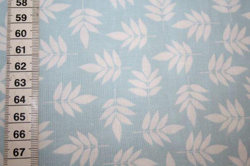 renee-d.de Onlineshop: Baumwollstoff Notting Hill Blumen Ornamente blau türkis