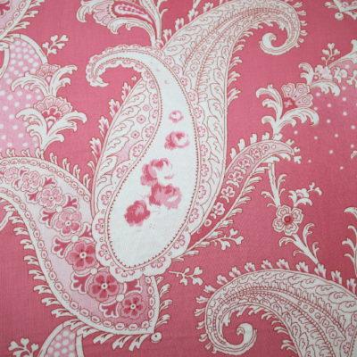 renee-d.de Onlineshop: Baumwollstoff Paisley rosa