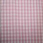 renee-d.de Onlineshop: Baumwollstoff Vichy Karo rosa mittel