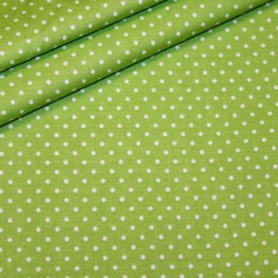 renee-d.de Baumwollstoff in blau mit weißen Punkten