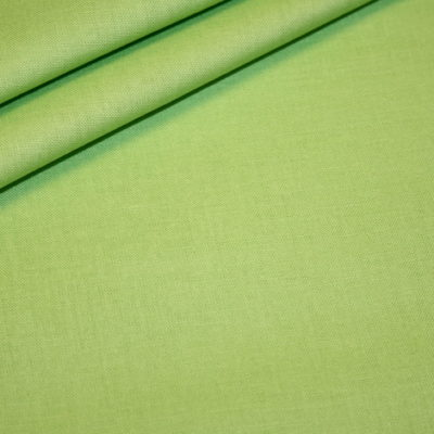renee-d.de Onlineshop: Baumwollstoff uni frühlings grün