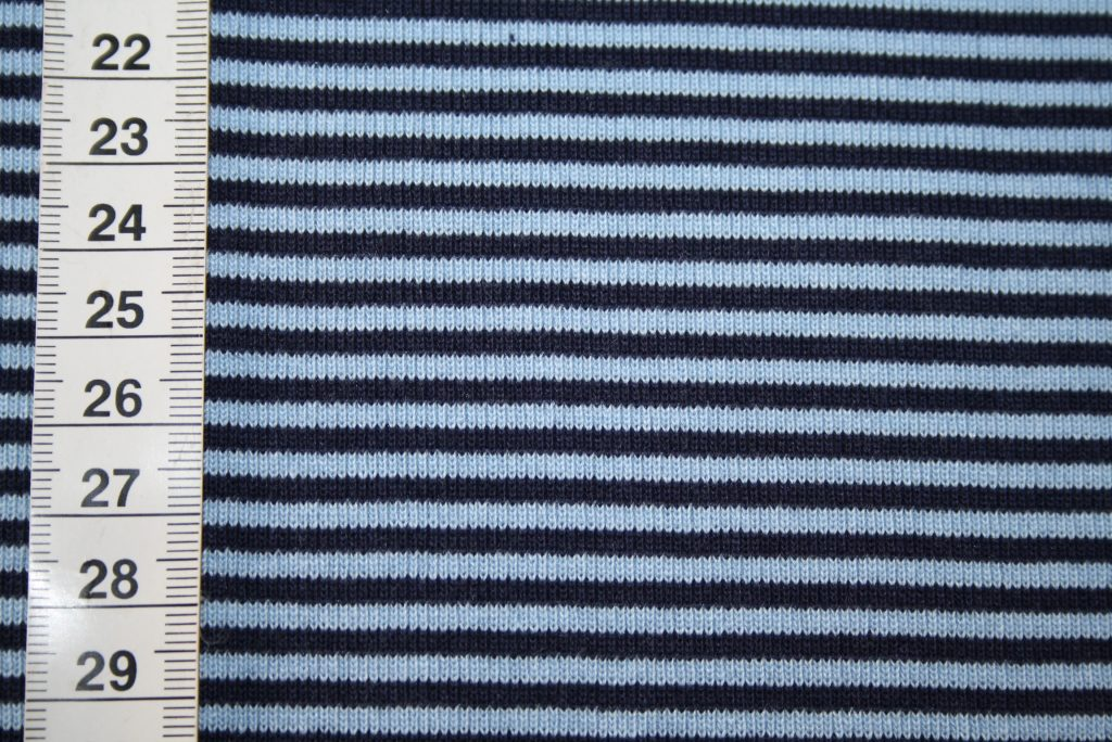 renee-d.de Onlineshop: Bündchen Ringel blau blau