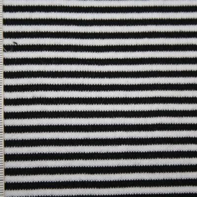 renee-d.de Onlineshop: Bündchen Ringel schwarz weiß