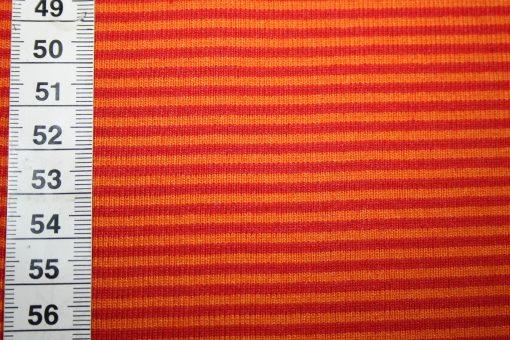 renee-d.de Onlineshop: Bündchen rot orange gestreift