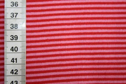 renee-d.de Onlineshop: Bündchen rot pink gestreift