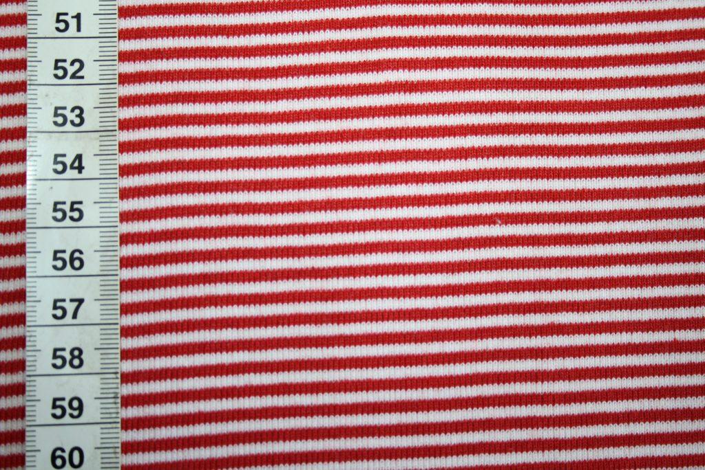renee-d.de Onlineshop: Bündchen rot weiß gestreift