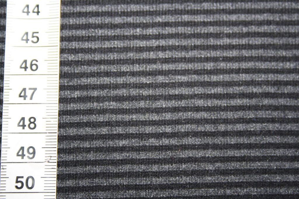 renee-d.de Onlineshop: Bündchen schwarz grau gestreift