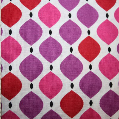 renee-d.de Onlineshop: Camelot Baumwollstoff Muster Ornamente pink