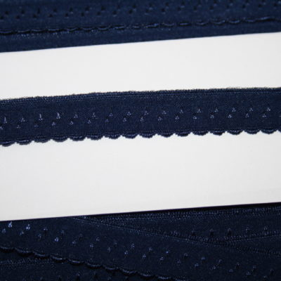 renee-d.de Onlineshop: Elastisches Gummi Schrägband  blau