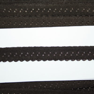 renee-d.de Onlineshop: Elastisches Gummi Schrägband  braun