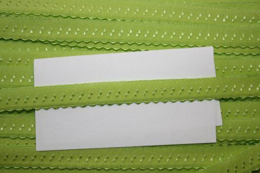 renee-d.de Onlineshop: Elastisches Gummi Schrägband grün
