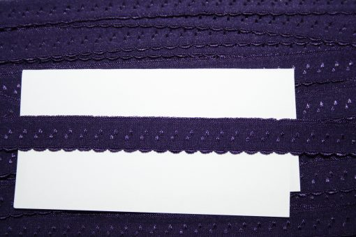 renee-d.de Onlineshop: Elastisches Gummi Schrägband  lila