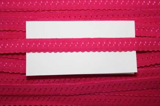 renee-d.de Onlineshop: Elastisches Gummi Schrägband  pink