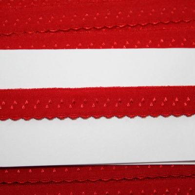 renee-d.de Onlineshop: Elastisches Gummi Schrägband  rot