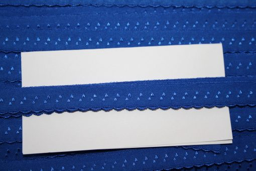 renee-d.de Onlineshop: Elastisches Gummi Schrägband  royalblau