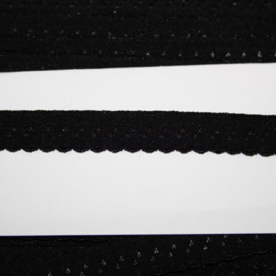 renee-d.de Onlineshop: Elastisches Gummi Schrägband  schwarz