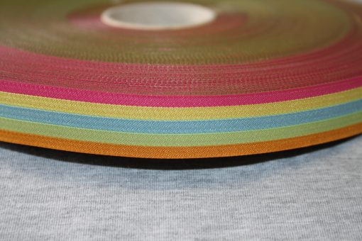 renee-d.de Onlineshop: Farbenmix Webband stripes sunlight