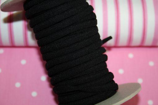 renee-d.de Onlineshop: Flache Gummikordel schwarz