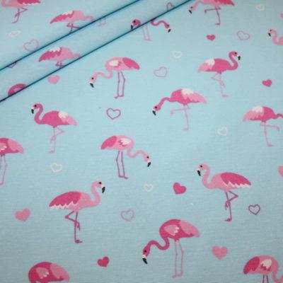 renee-d.de Onlineshop: Fester Deko Stoff Flamingo
