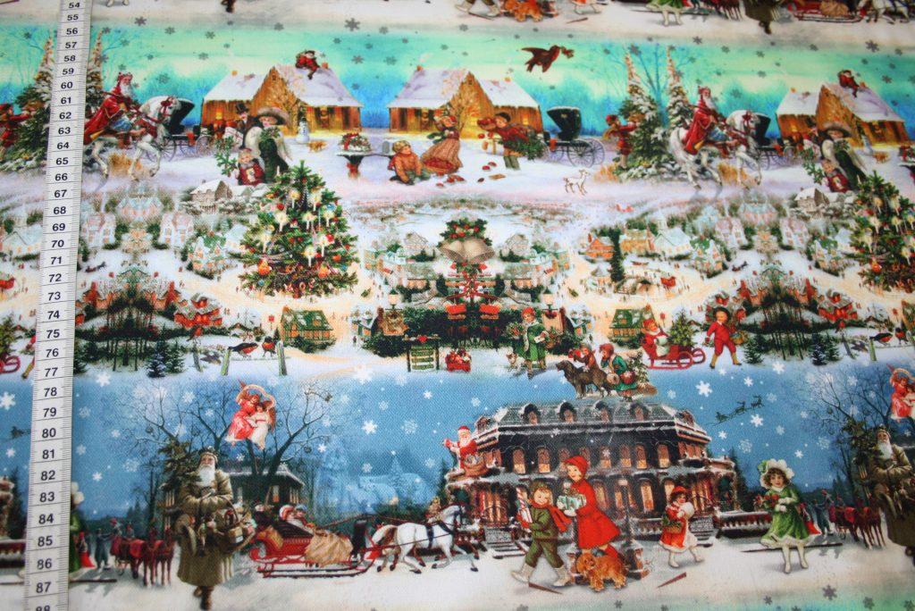 renee-d.de Onlineshop: Fotoprint Digitaldruck Deko Stoff Weihnachten