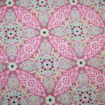 renee-d.de Onlineshop: Gütermann Baumwollstoff Long Island rosa weiß