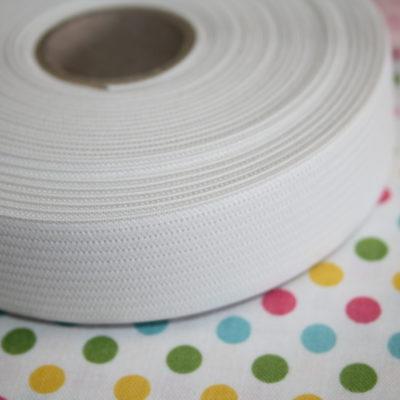 renee-d.de Onlineshop: Gummiband weiß 2 cm breit