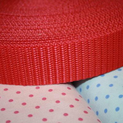 Artikel aus dem renee-d.de Onlineshop: Gurtband rot 3 cm