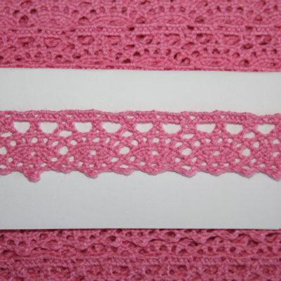 renee-d.de Onlineshop: Häkelborte pink