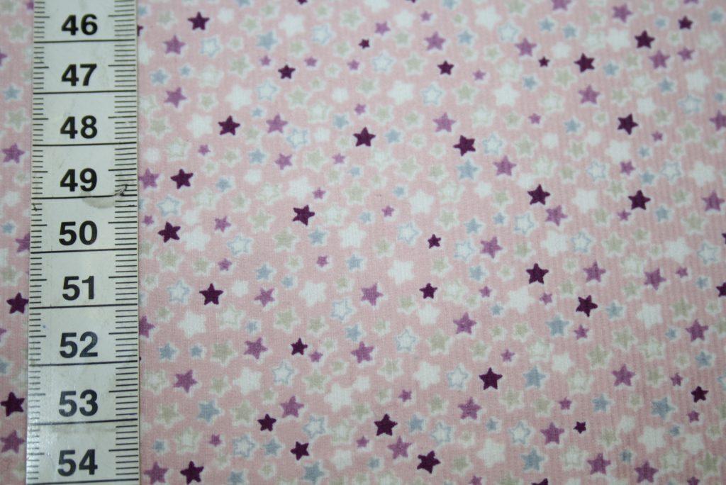 renee-d.de Onlineshop: Hilco Cord Stoff Camila rosa kleine Sterne