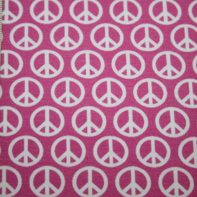 renee-d.de Onlineshop: Hilco Jersey Stoff Love Peace pink