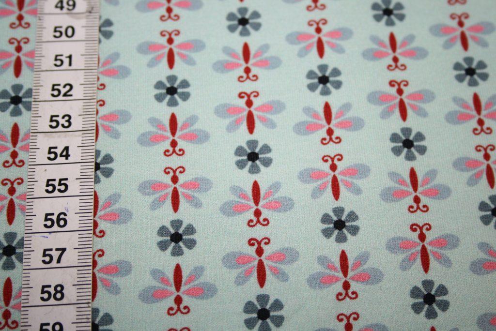 renee-d.de Onlineshop: Hilco Jersey Stoff kleine Blumen Lotta Serie