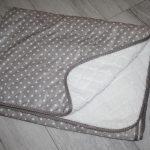 renee-d.de: Lederimitat mit Sternchen und Teddy Rückseite grau beige