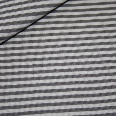 renee-d.de Onlineshop: Bündchen grau grau gestreift