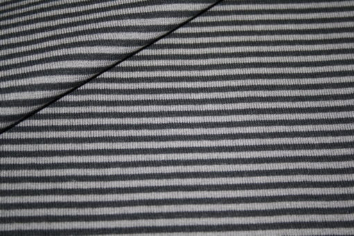 Artikel aus dem renee-d.de Onlineshop: Bündchen grau grau gestreift
