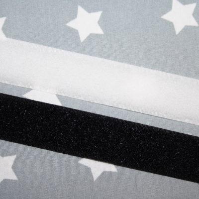 renee-d.de Onlineshop: Klettverschluss Meterware schwarz weiß