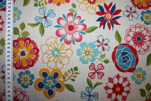renee-d.de Onlineshop: Kokka Echino Baumwollstoff Blumen