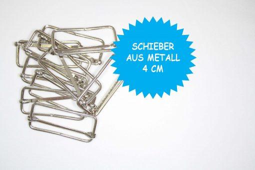 renee-d.de Onlineshop: Längenversteller Metall 4 cm